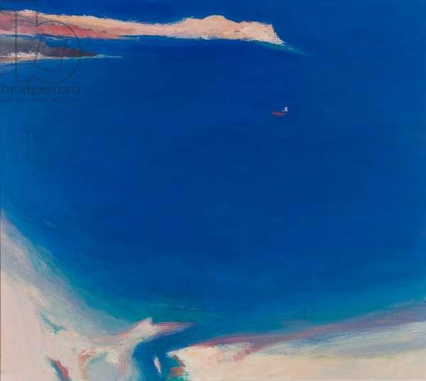 Midsummer Bay (oil on canvas)