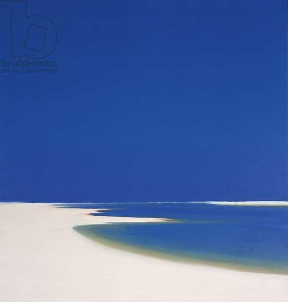 Summer Estuary, 1999 (oil on canvas)