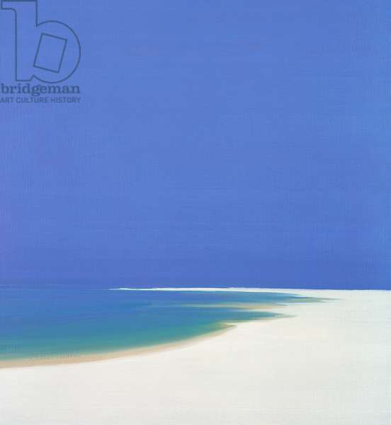 Sandspur in Summer, 2000 (oil on canvas)
