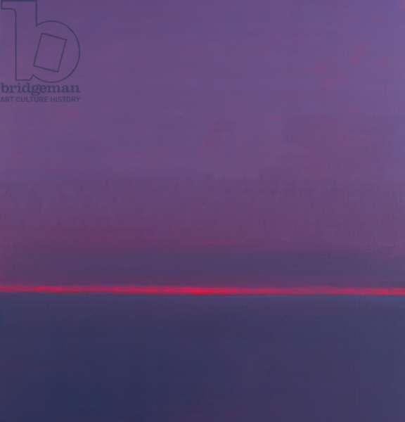April Horizon, 1999 (oil on canvas)