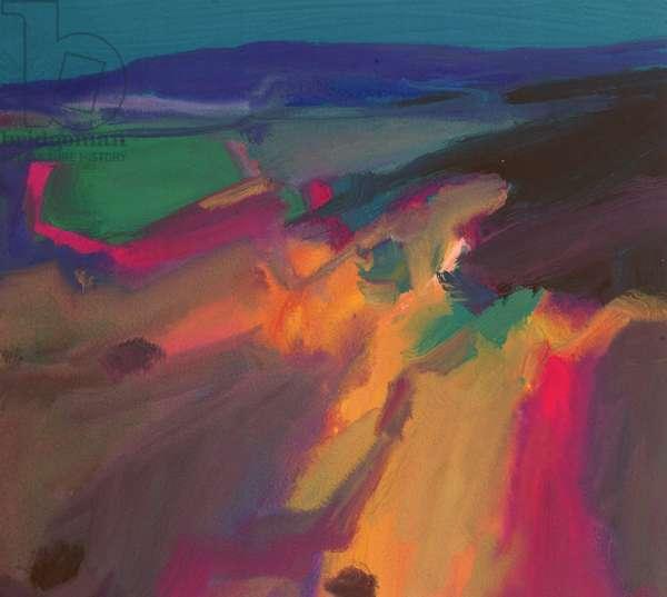 Landscape III, 1999 (gouache)