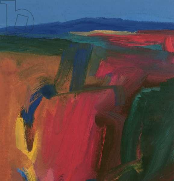 Landscape IV, 1999 (gouache)