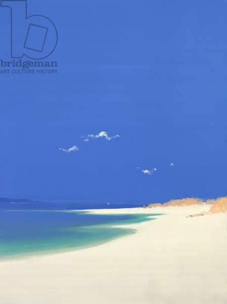 Tresco, Summer, 2001 (oil on canvas)
