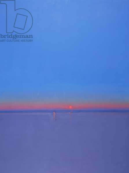 The Morning Beach, 1999 (oil on canvas)