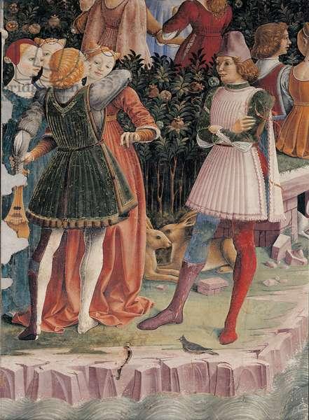 Allegory of April: Triumph of Venus, 1469 - 1470 (fresco)