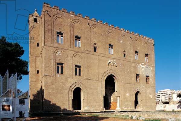 Palermo, Castle of `La Zisa',