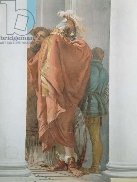 The Sacrifice of Iphigenia, 1757 (fresco)