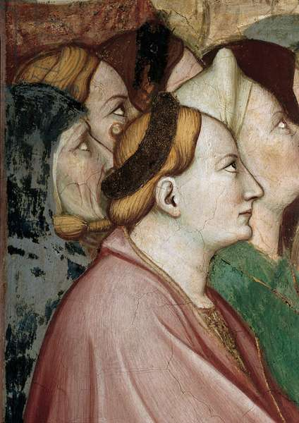 Episode No. 1 of the Stories of St James. Dispute between St James and Philetus and the Spells of Hermogenes, 1372 - 1379 (fresco)