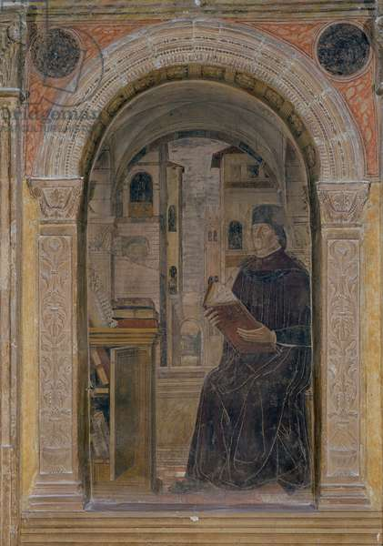 A Professor in His Studio (fresco)