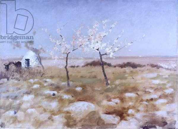 Spring (Primavera), by Giuseppe De Nittis, 19th Century