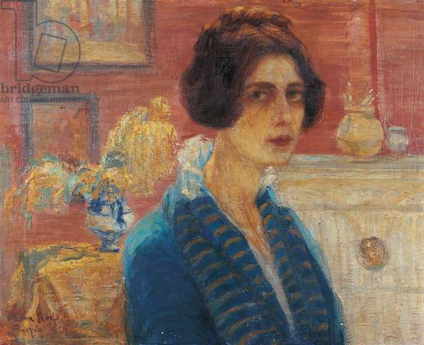 Self portrait, 1919 (oil on canvas)