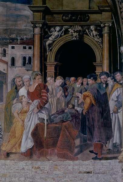 Obsequies of St. Rocco (fresco)