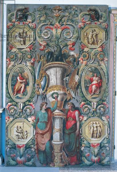 Decorative panel, 1780