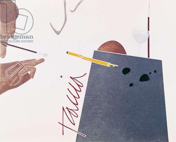 Trace, c.1976 (acrylic on canvas)