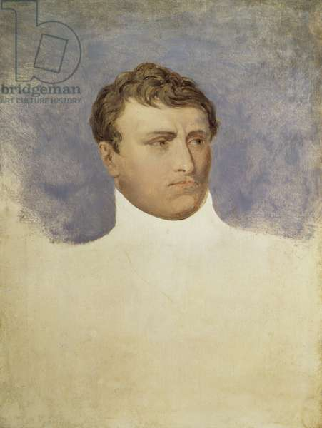 Portrait of Napoleon, by Andrea Appiani, 18th Century, oil on canvas
