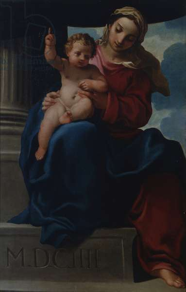 Virgin of the Nile, by Carlo Bononi, 1604, 17th Century, oil on canvas
