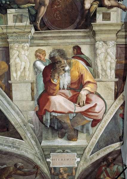 Jeremiah, 1508-12 (fresco)