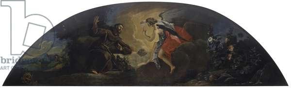 Ecstasy of St. Francis, by Francesco Guardi, 1738, 18th Century, canvas