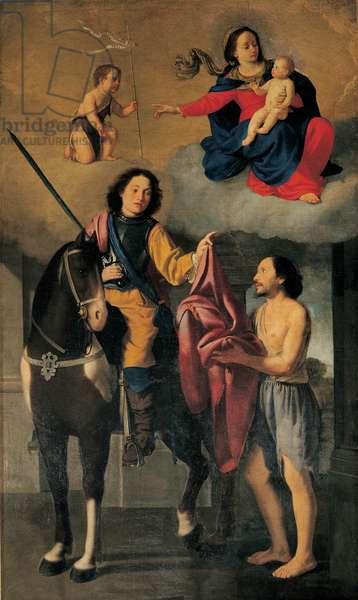 Charity of St Martin, 1629-75 (canvas)