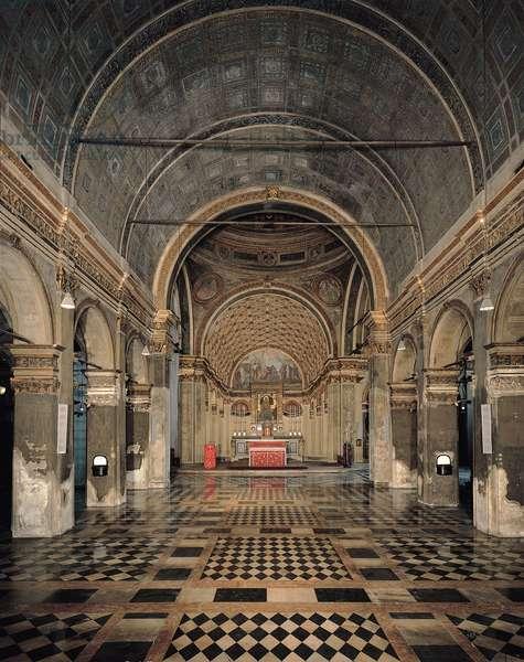 Santa Maria church, near San Satiro church, 1478