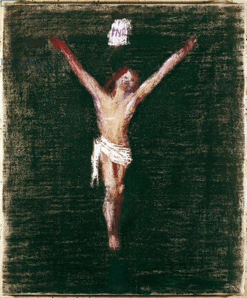 Crucifixion, c.1960 (oil on canvas)