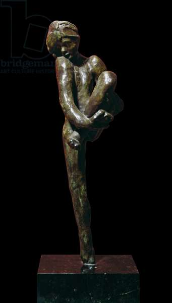 Dancing Movement D (Mouvement de danse D), by François-Auguste-René Rodin, after 1911, 20th Century, bronze, 35 x 29 x 10 cm