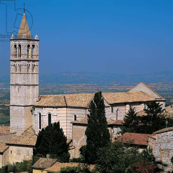 Basilica of Santa Chiara in Assisi, 1257