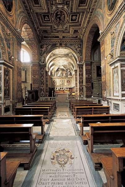 Church of San Silvestro al Quirinale,