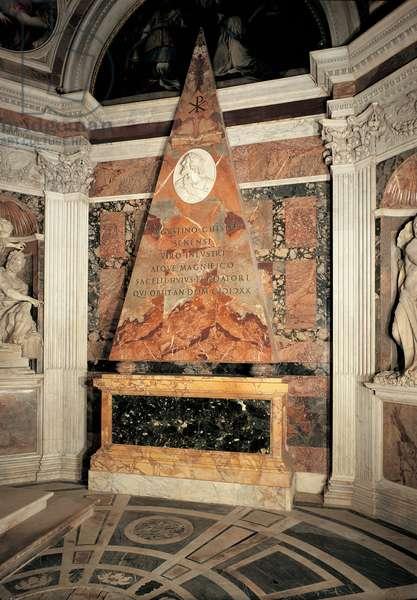 Chigi Chapel in Santa Maria del Popolo in Rome, 1512 - 1520 (polychrome marble)