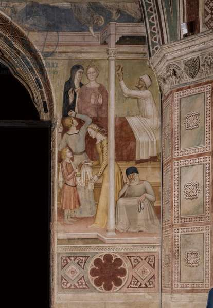 Tales of St. Peter Martyr, 1365-1367 (fresco)