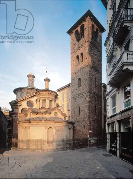 Sacelum of Santa Maria church, near San Satiro church, 1481 - 1486