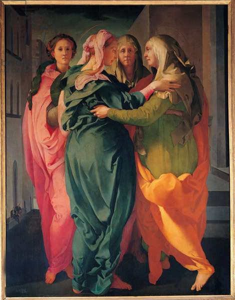 The Visitation. Painting about 1528