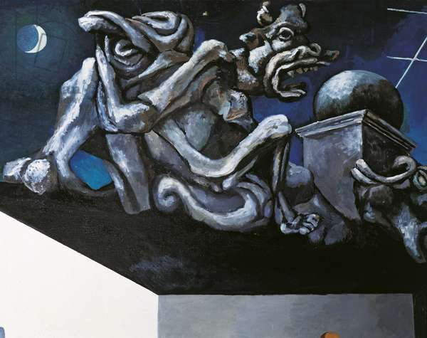 Hope against Hope (Spes contra Spem), by Renato Guttuso, 1982, 20th Century, oil on canvas, 224 x 300 cm
