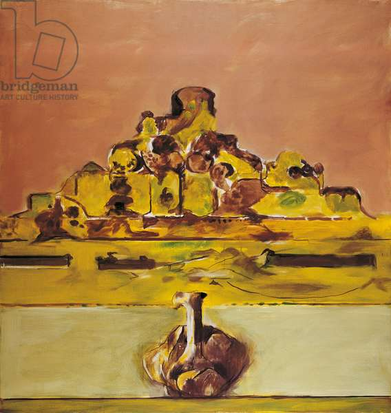 Mountain, by Graham Sutherland, 1973, 20th Century, oil on canvas