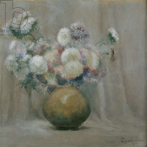 Lilacs (oil on canvas)