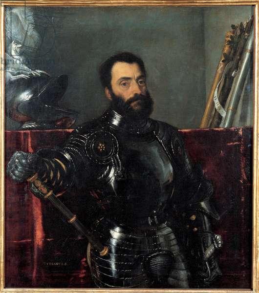 Portrait of Francesco Maria I Della Rovere (oil on canvas)