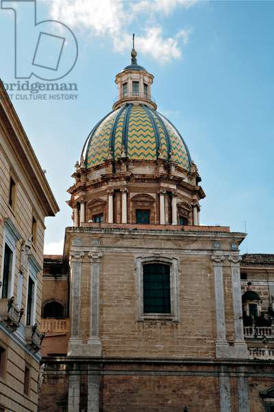 Palermo, Church of San Giuseppe dei Teatini, 1612