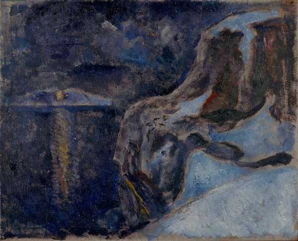 Winter by the Sea, 1910 (oil on canvas)