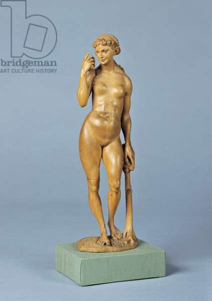 Eve (Eve), by Christof Weiditz I, 1540 - 1550, 16th Century, carved boxwood, 32 cm
