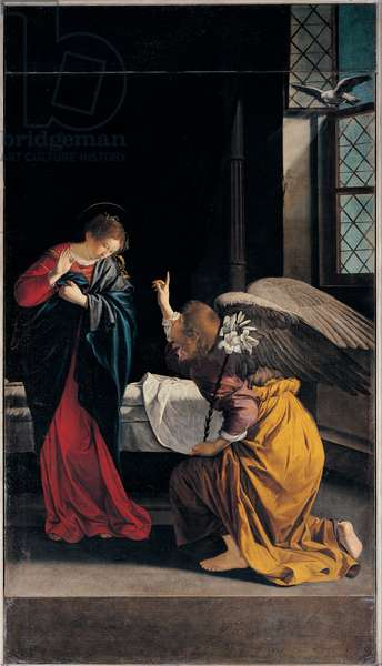 The Annunciation, 1633 (oil on canvas)