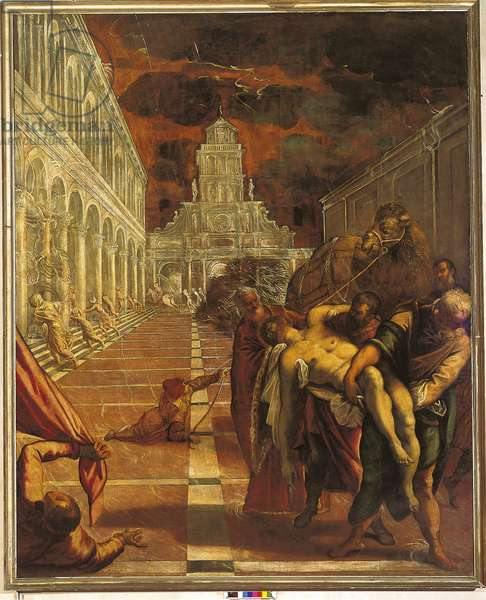 Transport of the Body of St. Mark, 1562-66 (oil on canvas)
