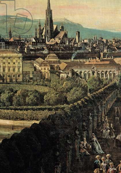 View of Vienna from the Belvedere, 1759 - 1760 (oil on canvas)