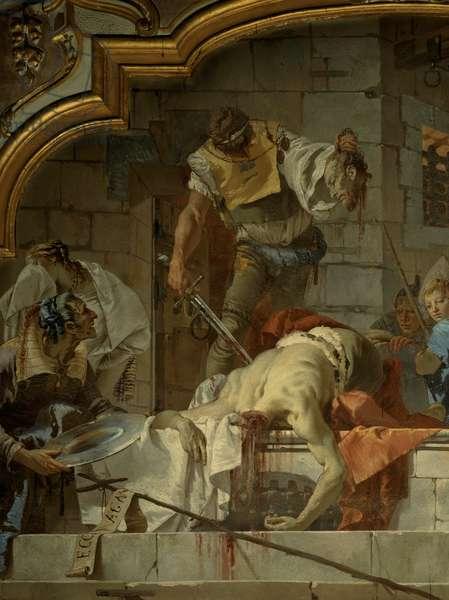 The Beheading of St John the Baptist, 1732 - 1734 (fresco)