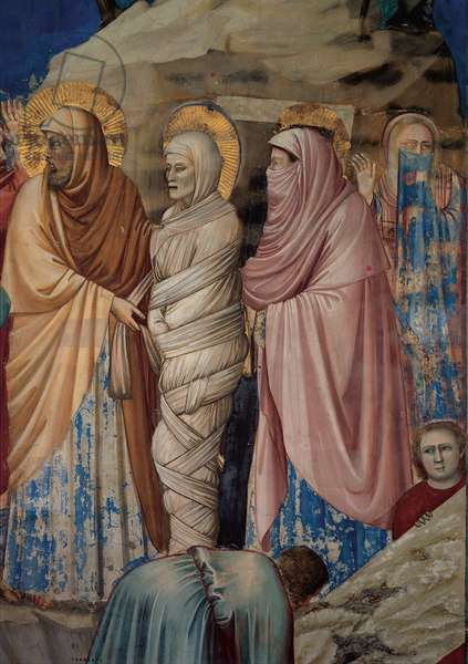 Stories of Christ: The Raising of Lazarus, 1304 - 1306 (fresco)