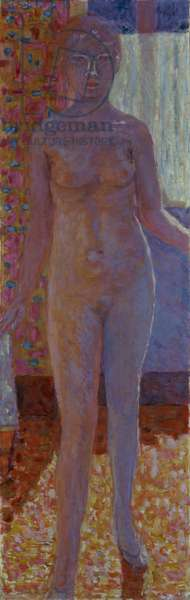 Backlit Nude, 1919 (oil on canvas)