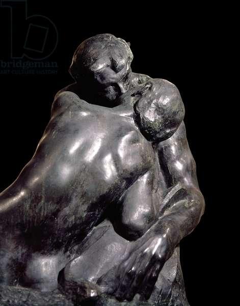 The kiss (Le Baiser), by François-Auguste-René Rodin, 1886, 19th Century, bronze