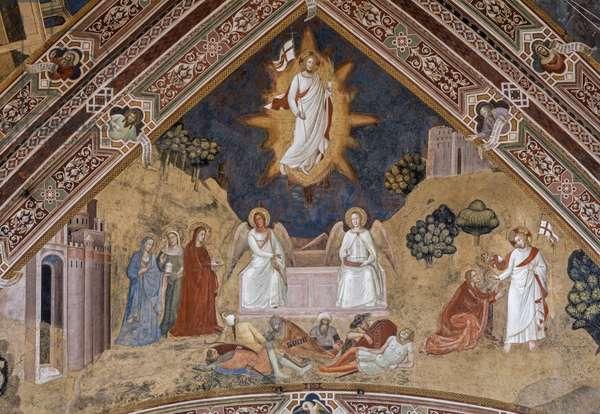 Resurrection Rib Vault, 1365-1367 (fresco)