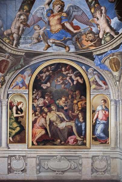 Deposition of Christ, 1540-1545 (fresco)