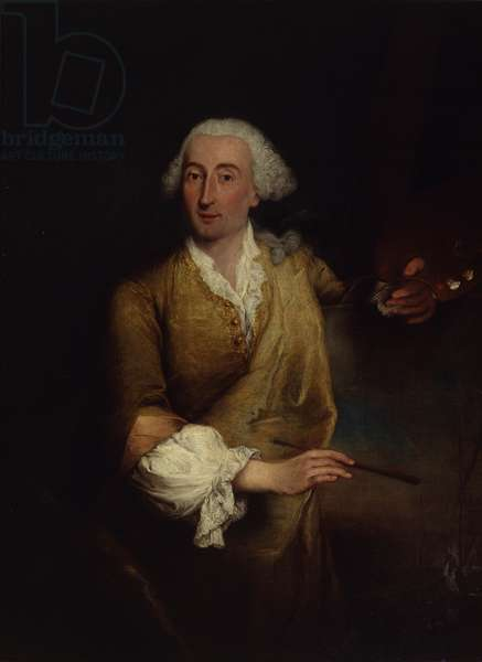Portrait of Francesco Guardi (Ritratto di Francesco Guardi), by Pietro Falca knowm as Pietro Longhi, 1764, 18th Century, oil on canvas, 132 x 100 cm