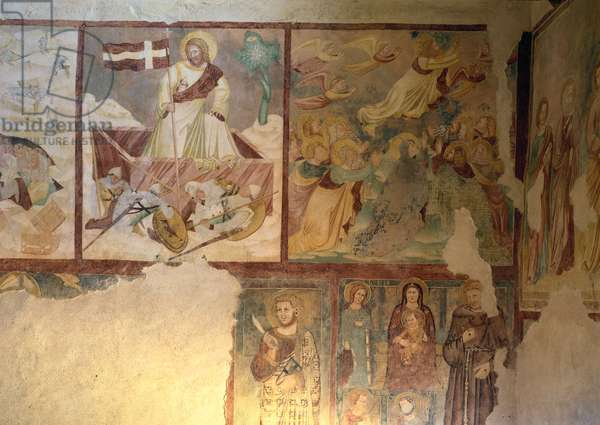 Resurrection, (fresco)